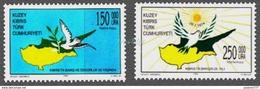 TRNC (Mi-501/02) 1999 Northern Cyprus Peace Operation MNH** - Nuevos