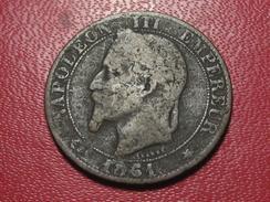 5 Centimes Napoléon III 1861 A Paris 3304 - France