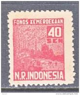 SUMATRA   REVOLUTIONALY  ISSUE  2 L 18     * - Indonesia