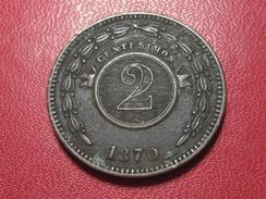 Paraguay - 2 Centavos 1870 3654 - Paraguay