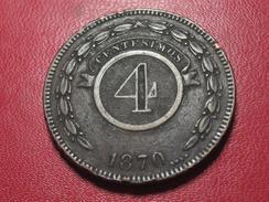 Paraguay - 4 Centavos 1870 3650 - Paraguay