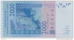 WEST AFRICAN STATES P. 716Kj 2000 F 2012 UNC - Senegal