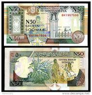 Somalia 50 Shillings 1991 UNC - Somalia