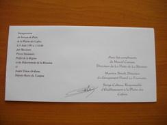 Réunion : Document Illustré émis Pour L'inauguration Du Bureau De Poste De La Plaine Des Cafres En 1995 - Réunion (1852-1975)