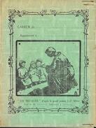 Protège Cahier - La Becquée Par Le Peintre Millet - Oeuvre Des Pupilles De L'Ecole Publique De La Manche - Kids