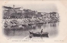 CPA - Marseille - Vue Générale Du Port De L'Estaque - L'Estaque