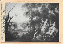 Publicité R. Beaupuy, Fabricant De Becs Et Manchons (Lisieux), Tableau Nicolas Langret: Le Printemps (Musée Du Louvre) - Pubblicitari