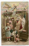 CPA  Militaria : Enfants  Et HEUREUX NOEL 1915   A  VOIR  !!!!!!! - War 1914-18