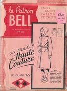 Le Patron Bell - Un Modèle Haute Couture: Pardessus Pour Garçonnet (Les Quatre As, Avenue De L'Opéra, Paris) - Patrons