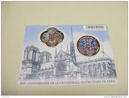 FRANCE - Bloc Feuillet BF Vitraux Notre-Dame De Paris (2013) N** - Blocs & Feuillets