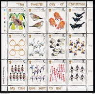 Guernsey, 1984, 298/309, Christmas. MNH ** - Guernesey