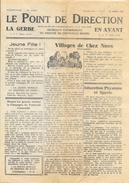 Le Point De Direction (Journaux Catholiques Diocèse De Coutances) - La Gerbe En Avant N° 18 (21 Août 1942), 4 Pages - Other