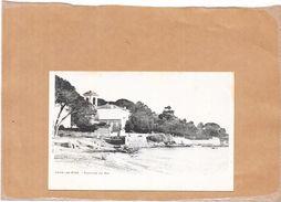 JUAN LES PINS  - 06 -CPA DOS SIMPLE - Fontaine Du Pin   - LYO1 - - Autres Communes