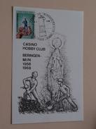CASINO Hobby Club BERINGEN MIJN 1958-1968 Tegen De Werkongevallen ( Voir Photo ) - Beringen