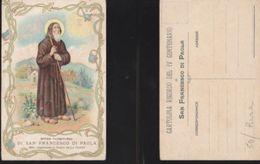 13846) EFFIGE TAUMATURGA DI S. FRANCESCO DA PAOLA VI CENTENARIO NON VIAGG - Heiligen