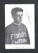 WIELRENNER - CYCLISTE - COUREUR  GUIDO REYBROUCK - FLANDRIA ROMEO - FOTOKAART + HANDTEKENING (8931) - Cyclisme