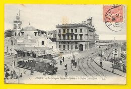 ALGER Mosquée Djemaa Djedid Et Palais Consulaire (LL) Algérie - Alger