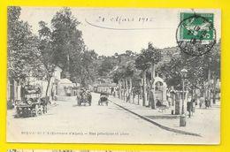 BIRMANDREIS Rare Rue Principale Et Place (Geiser) Algérie - Autres Villes