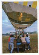 CPM  56   VANNES   PREPARATION D UNE MONTGOLFIERE  FETES DU CENTENAIRE DE LA MAIRIE - Balloons