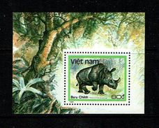 Vietnam 1988 Sc # Bf 1892  MNH **  Rhinoceros - Rhinozerosse