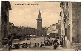 Romans Sur Isere Place Jacquemart - Romans Sur Isere
