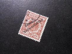 D.R.10  50Pf   Deutsche Kolonien (Deutsch-Südwestafrika) 1898 - Mi 15,00 € - Kolonie: Duits Zuidwest-Afrika