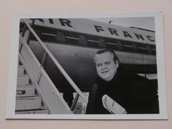 ORSON WELLES Septembre 1967 ( STAR 130 ) AIR FRANCE Distribution VU ( Details Zie Foto's ) ! - Artistes