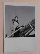 ELISABETH TAYLOR 28 Avril 1957 ( STAR 140 ) AIR FRANCE Distribution VU ( Details Zie Foto's ) ! - Femmes Célèbres