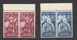 Rheinland-Pfalz,30/31 T I-II Je Paar,xx (5290) - Französische Zone