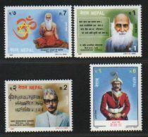 Nepal  1944  Michel 579-582  Personalities  4v  MNH    #  01499  OLD D - Nepal