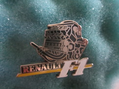 Pin's Pins Arthus Bertrand Sport Renault Moteur Formule 1 F1 - Car Racing - F1