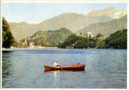 PANORAMA LACUSTRE  Barca Nel Lago  Serie Asilo Valfrè - Cartoline