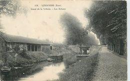 LOUVIERS - Canal De La Vilette, Les écluses.(ELD éditeur) - Louviers