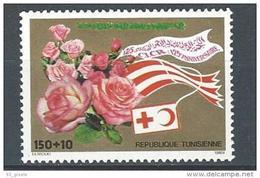 """Tunisie YT 1109 """" Croix-Rouge Et Croissant-Rouge """" 1988 Neuf** - Tunisia"""