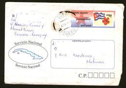 CUBA Storia Postale Intero Prepagato Postage Paid Port Payé 1998 - Cuba