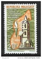 """Madagascar YT 441 """" Eglise Lutherienne """" 1967 Neuf** - Madagascar (1960-...)"""