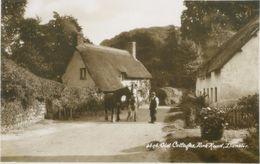 Dunster; Old Cottages. Park Road - Not Circulated. (Sweetman & Son, Ltd. - Tunbridge Wells) - Bath