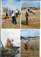 Fête Moisson Travaux Agricoles Agriculture Tracteur Métiers Anciens 40 Véritables Photos 10 X15 Cm (non Carte Postale ) - Beroepen