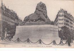 Cp , 75 , PARIS , Le Lion De Belfort, Par A. Bartholdi - France