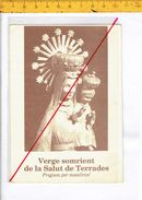 43230 Verge Somrient De La Salut De Terrades - Religion & Esotérisme