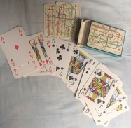 Carte à Jouer  54 Cartes Métro Underground Londres - Playing Cards (classic)
