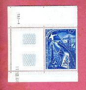 P7. PA18 ** Coin De Feuille Daté. 5e Réunion Consultative Traité Antarctique - Airmail