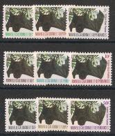 Nouvelle Calédonie - 1983 - Taxe TT N°Yv. 49 à 56 - Chauve-souris - Neuf Luxe ** / MNH / Postfrisch - Birds