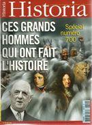 HISTORIA N°700, Les Grands Hommes, Les Charitables De Béthune, Caillebotte, Etc. - Histoire