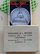 """Medaille - Tafeltennis .A.P.G.S Kamp """"54 , Amsterdam - See The 2  Scans For Condition. ( Originalscan !!! ) - Netherland"""