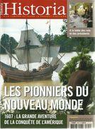 HISTORIA N°709, Les Pionniers Du Nouveau Monde, Repas à L'Elysée, Benjamin Franklin, Juliette Greco, Etc. - Storia