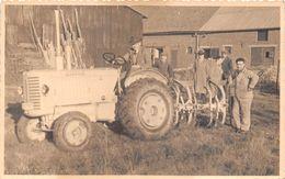 """¤¤  -  Carte-Photo  -  Agriculture , Tracteur """" Renault """"  -  Agriculteur   -  ¤¤ - Tracteurs"""