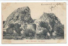 Pierrelatte ,les Rochers - France