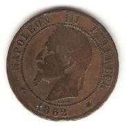 1 Pièce De 10 Centimes ( Napoléon III ) - France