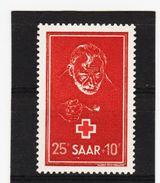KAR334 DEUTSCHLAND SAARGEBIET 1950  MICHL 292 ** Postfrisch SIEHE ABBILDUNG - 1947-56 Allierte Besetzung